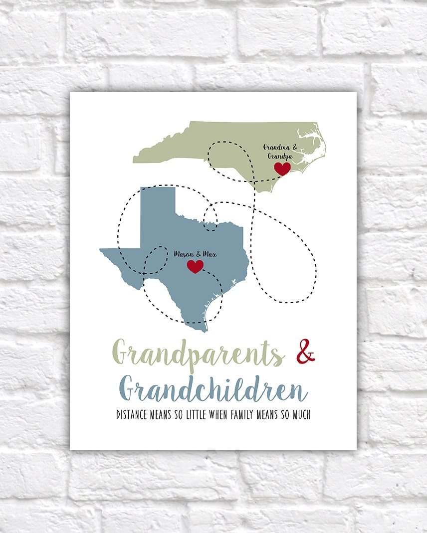 Christmas Gift for Grandma and Grandpa, Grandparents Quotes from ...