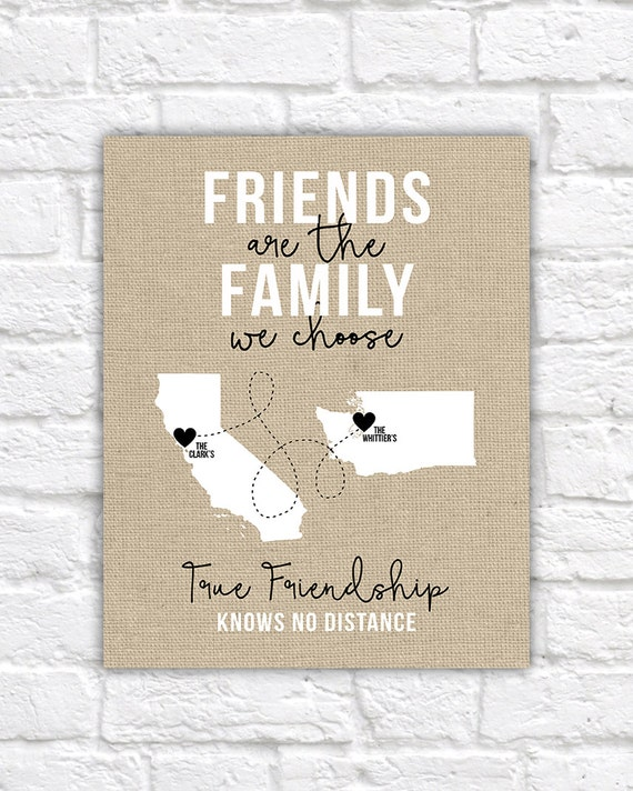 Friends of the Family Close Friends Gifts Christmas Gift for   Etsy