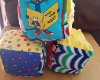 Cute Cloth Blocks with a Jingle