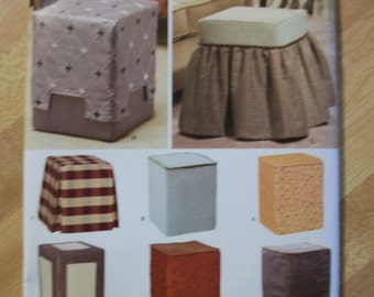 Simplicity 4103 Christopher Lowell ottomans