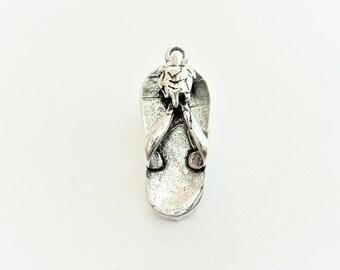 d59e061e67c46 925 sterling silver flip flop charm