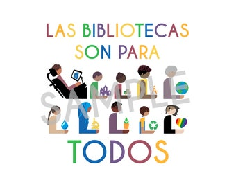 Spanish Rainbow Libraries Are For Everyone