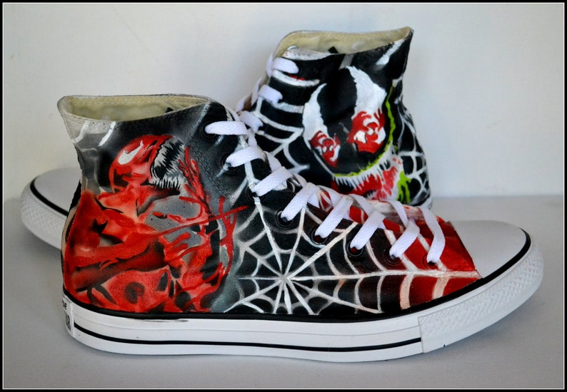 8506eb82fb4 Gifts for Him Personalized Converse Converse Venom Shoes