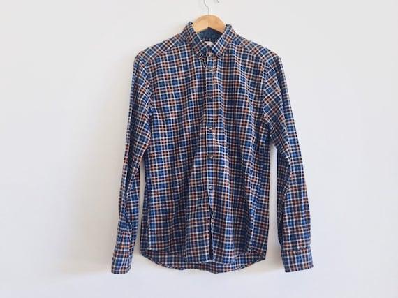 vintage plaid esprit shirt // vintage 90s esprit s