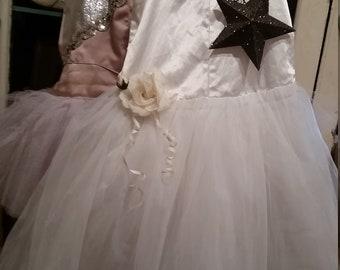 Vintage Ballet Tutu Dance Tulle Costume