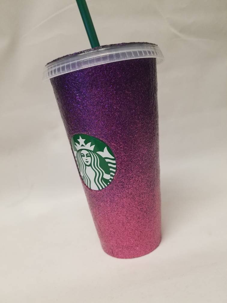 Glitter Starbucks Cup - Ombre design - you choose two