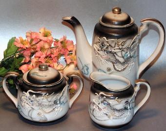 Dragonware tea set | Etsy