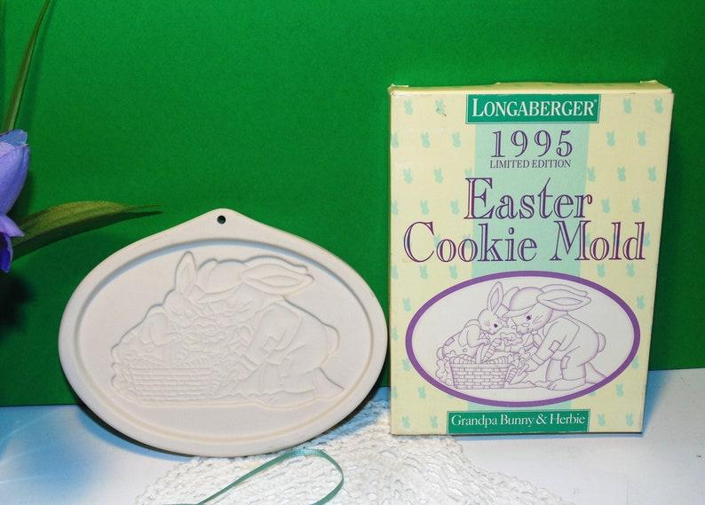BUNNY USA Easter! Longaberger American Craft Serving Basket w// Pottery LID