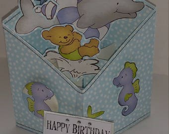 Dolphin Box card