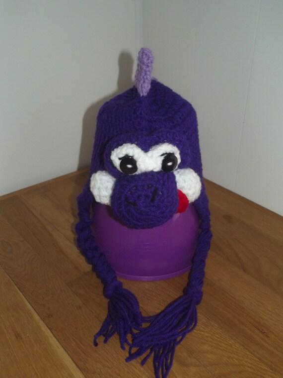 b520a6131f5 Dinosaur Hat Crochet Hat Winter Hat Stuffed Hat Animal