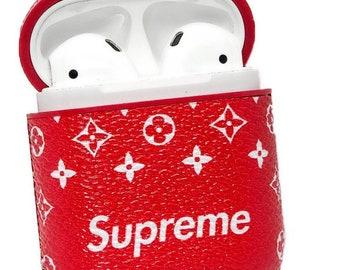 supreme suitcase airpod case