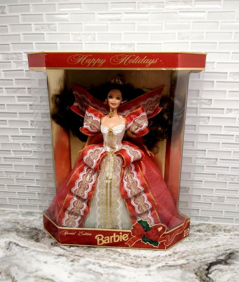 barbie special edition happy holidays 1997