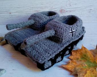 Panzer Hausschuhe Etsy