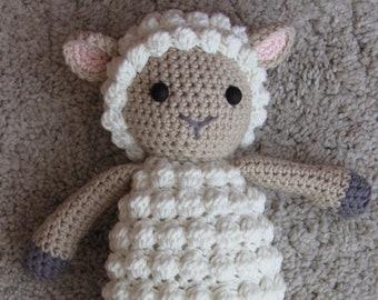 stuffed sheep - crochet sheep - toy sheep - stuffed lamb - crochet lamb - stuffed animal