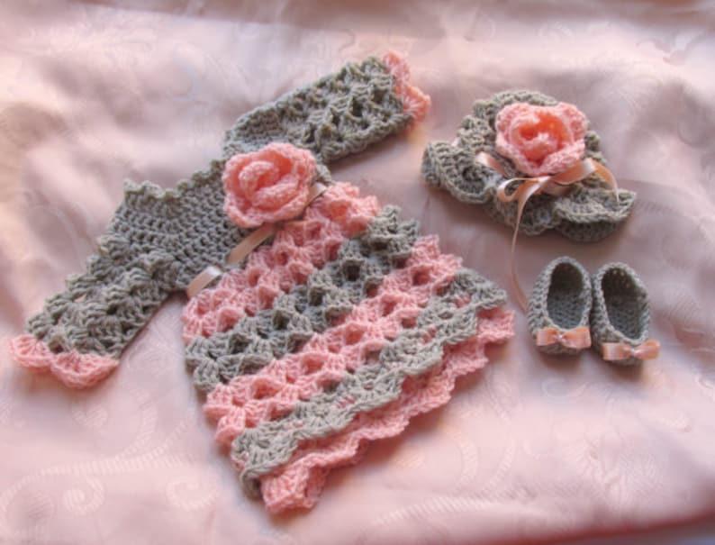 Baby Dress Pattern Crochet Baby Pattern Crochet Baby Etsy