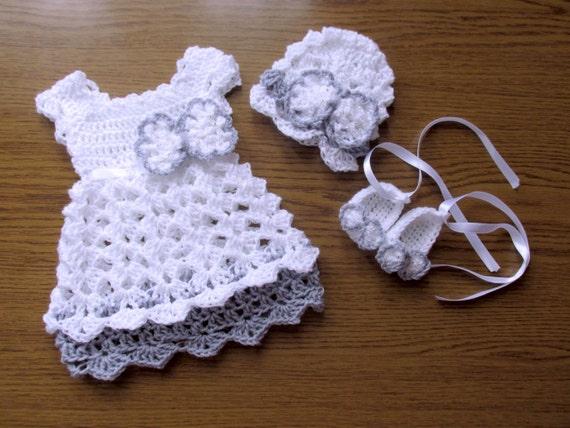 Baby Mädchen Outift Take Me Home Kleid Häkeln Baby Kleid Etsy