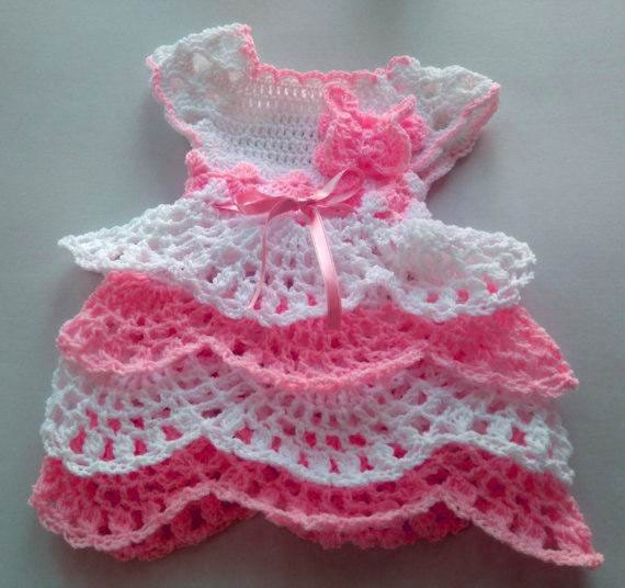 Newborn Girl Coming Home Outfit In White And Baby Pink Ruffle Etsy