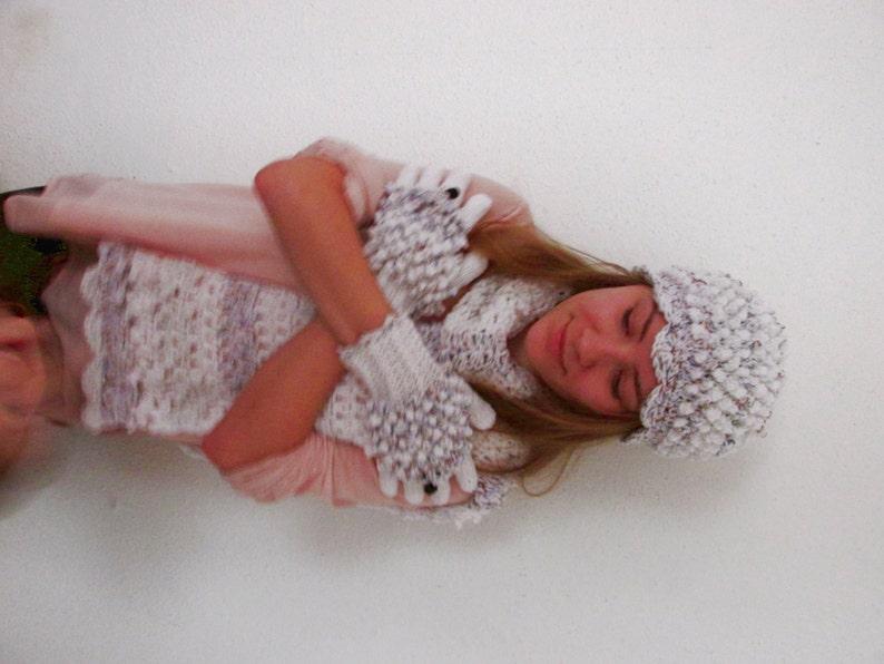 df59cd6b56c Hedgehog scarf hedgehog gloves hat scarf gloves women