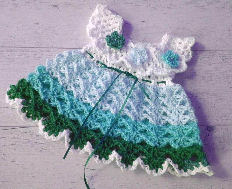 e562765dae0e Crochet Pattern Dress pattern How to crochet baby dress | Etsy