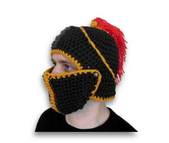 crochet slouch hat handmade knight hat winter hat snowboard  f8d71ecaa6c