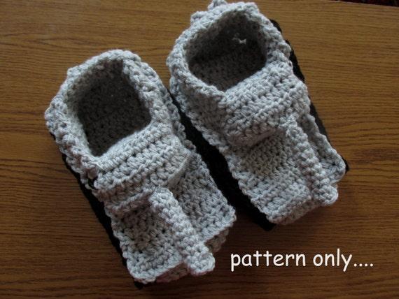 Tiger 1 Slipper Crochet Pattern Diy Crochet Tank Slippers Etsy