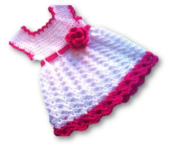 Baby Dress Pattern Crochet Baby Dress Baby Girl Dresses Etsy