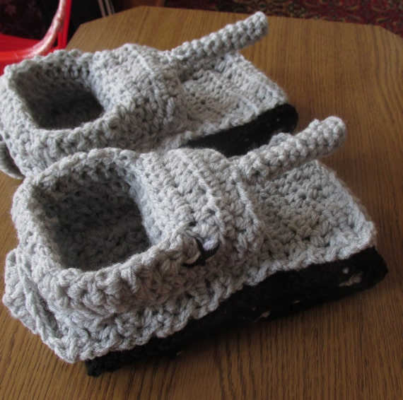 Crochet Tank Slippers World Of Tanks Panzer Army Tank Etsy