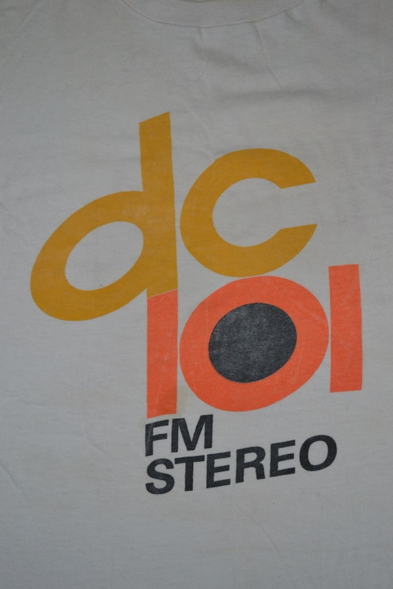 Album de vintage des Tour années 70 la MOTELS Dc 101 FM stéréo Tour des Concert Promo New Wave des années 80 rare T-shirt 1faaea