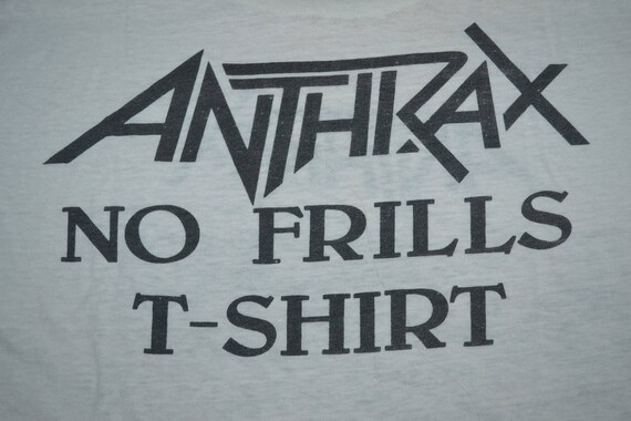 T Tour Frills shirt Size Concert Vintage No promo Euphoria of 1988 ANTHRAX State rare L q0gOxH