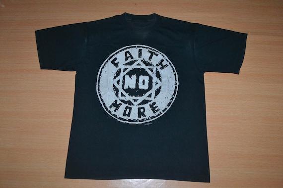 Vintage Tour NO Dust 90s Angel album Concert Logo 1992 MORE shirt Promo T FAITH rare rrT0x