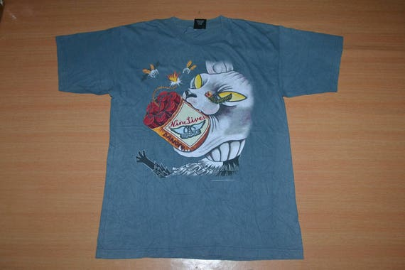 Nine Tour rare Concert shirt World AEROSMITH Vintage 90s T 1997 Lives promo BaTXBE0