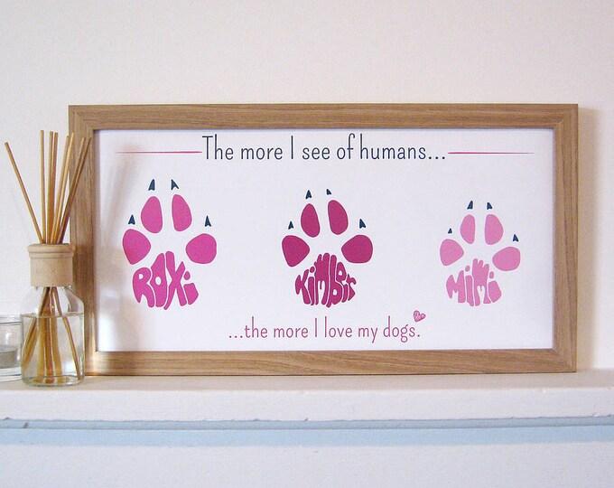 Pet Paw Print