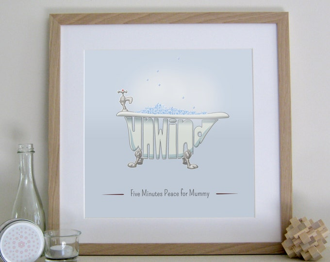 Personalised Bathroom Print