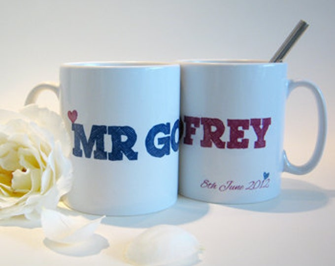 Personalized couple mugs| mr and mr mugs| mr and mrs mugs| personalized wedding mugs| mr and mrs mugs| personalised couple mugs|