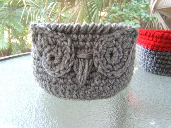Pdf Owl Basket Pattern Crochet Owl Basket Pattern Crochet Etsy