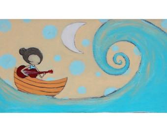 song at sea print