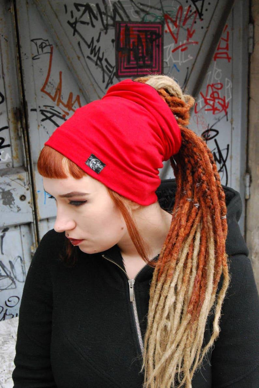 855b8f7e80e22 Dreadlock tube hat headband rasta dreads turban beanie winter