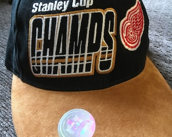 1997 Stanley Cup Redwings Hat
