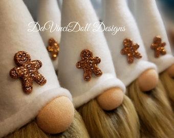 Mini Gingerbread Gnomes by DaVinciDoll Designs