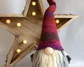 Woodland Spring Gnome Original works by DaVinciDollDesigns