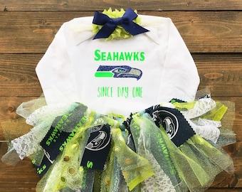 Seattle Seahawks Tutu Set Since Day One Seattly Seahawks Newborn 852a5b853