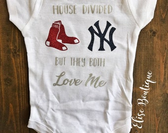 96148718 House Divided Red Sox and Yankees
