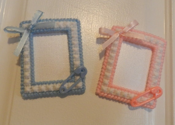 Magnetic Baby Shower Favors Picture Frames Etsy