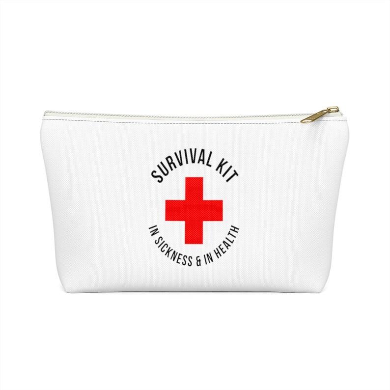 Survival Kit Bags Bachelorette Party Bag Accessory Pouch Favor image 0