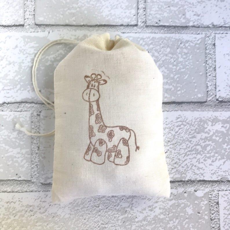 Giraffe Party Bags  Safari Goodie Bag Zoo Favor Jungle Baby image 0