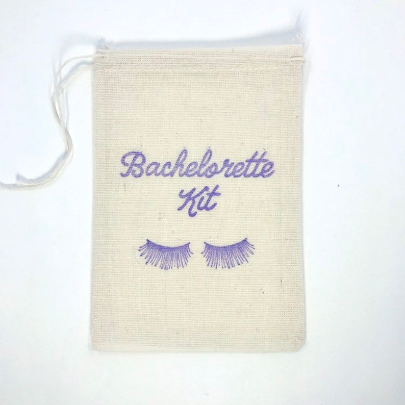 Bachelorette Kit Eyelash Favor Bags Hangover Kit Party Bags Holiday Survival Kit Goodie Bag Wedding Welcome Recovery Gift
