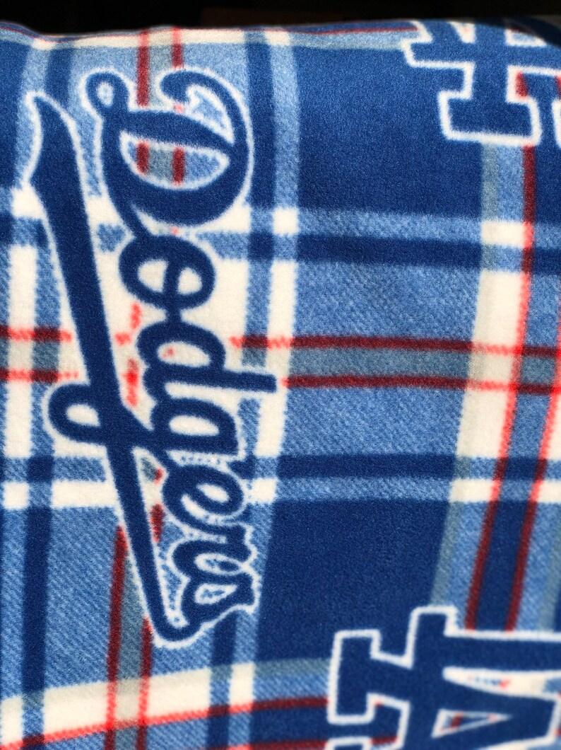 LA Dodger fleece Throw