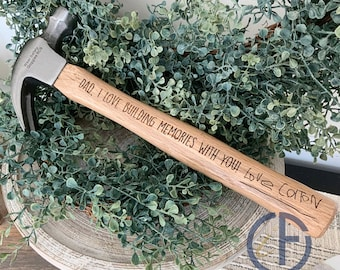 Personalized Hammer | Father's Day Gift | Wood Hammer | Custom Hammer | Dad Gift