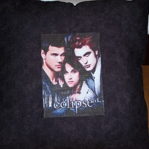 Hand Madetwilight Eclipse Throw Pillow Has Edward Etsy