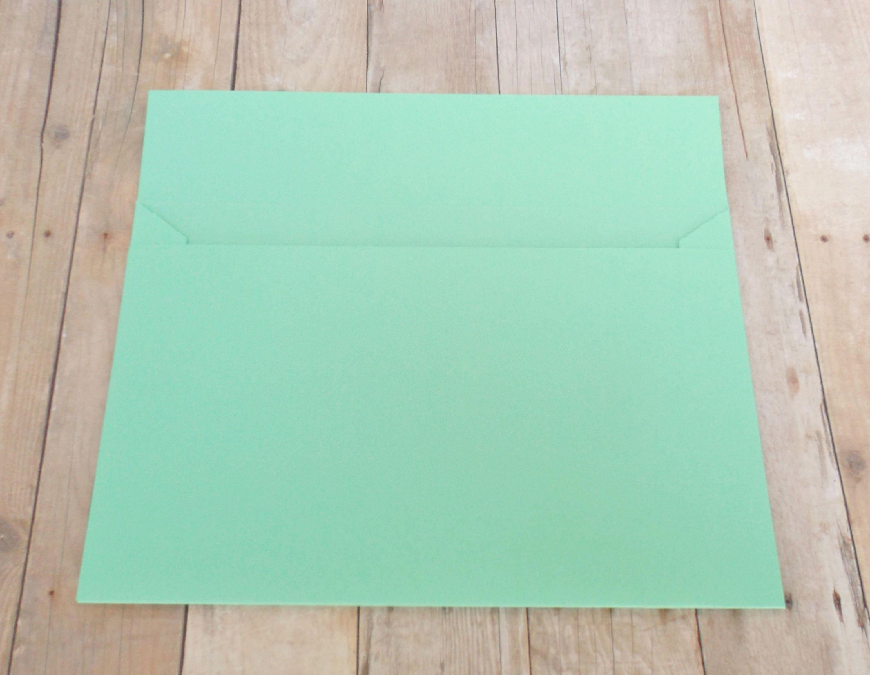Aquamarine Mint Matte Envelopes 4x6 A6 Greeting Cards Etsy